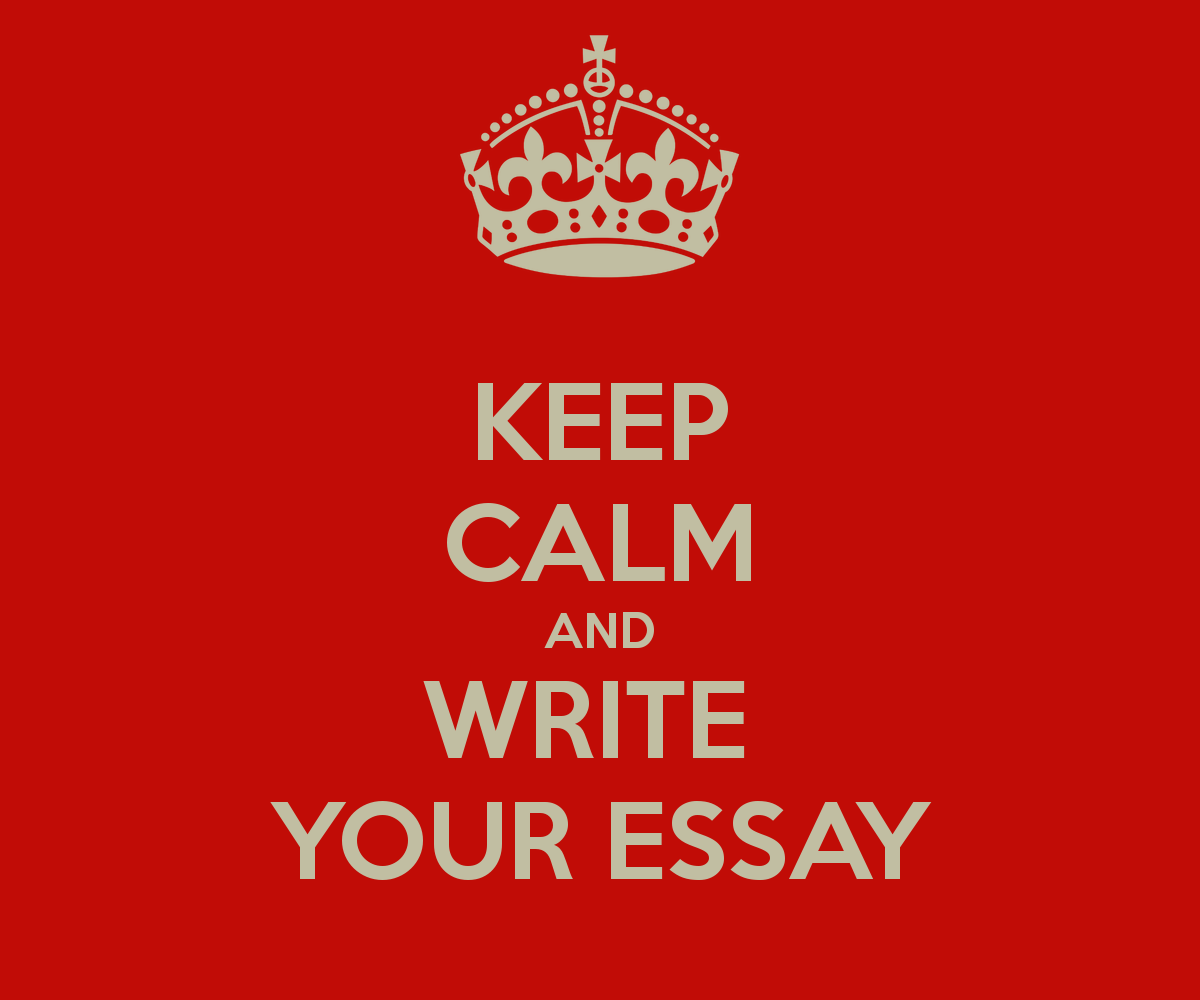 writing time keep calm and write your essay 4